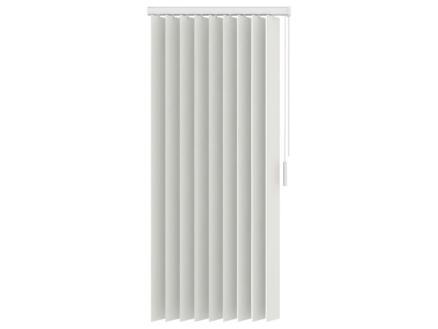 Decosol verticale lamellen verduisterend 89mm 90x180 cm wit