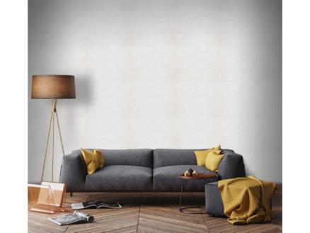 Superfresco Easy vliesbehang Uni 52cm x 10m  wit stucwerk