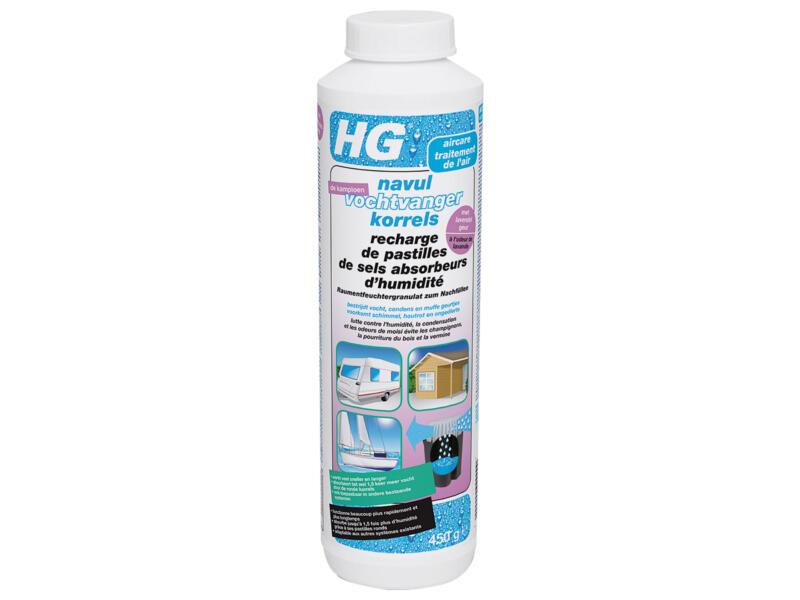 HG vochtvangerkorrels navul 0,45kg lavendel