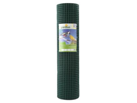 Giardino vogelgaas 2,5m x 101cm 12,7mm geplastificeerd groen