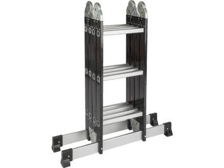 Escalo vouwladder met stabilisator 4x3 sporten