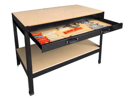 Practo Home werkbank met 1 lade 100x90x105 cm