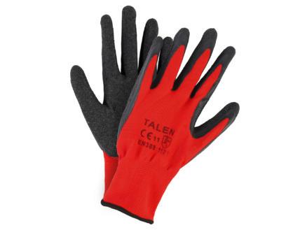 AVR werkhandschoenen 10/L nylon rood