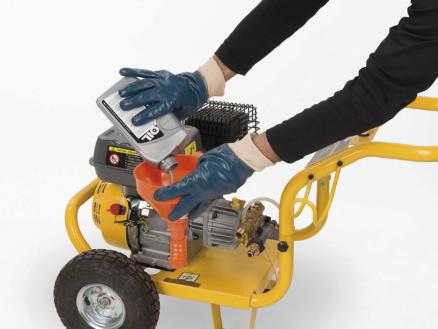 Kreator werkhandschoenen XL nitril blauw