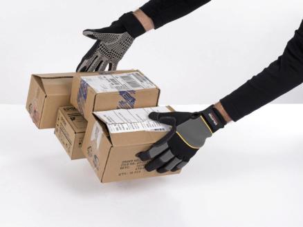 Kreator werkhandschoenen XL siliconen grijs