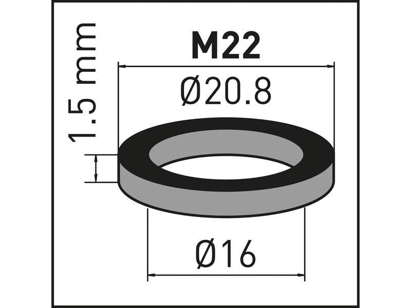 Neoperl ziften met dichtingen voor perlator M22 2 stuks